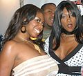 Nyomi Banxxx & Candace Von at Evil Angel Party 2.jpg