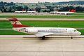 OE-LFT Fokker 70 Austrian Al ZRH 04SEP02 (8272258972).jpg