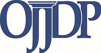 Office of Juvenile Justice and Delinquency Prevention - Image: OJJDP Logo Blue