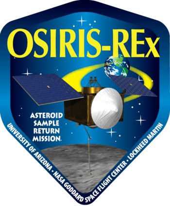 English: OSIRIS-REx mission patch