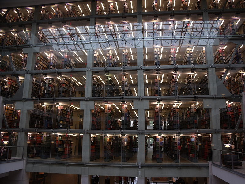 File:OSU William Oxley Thompson Memorial Library Stacks.JPG