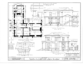 Oaks Place, 808 Maysville Road, Huntsville, Madison County, AL HABS ALA,45-HUVI.V,1- (sheet 3 of 4).png