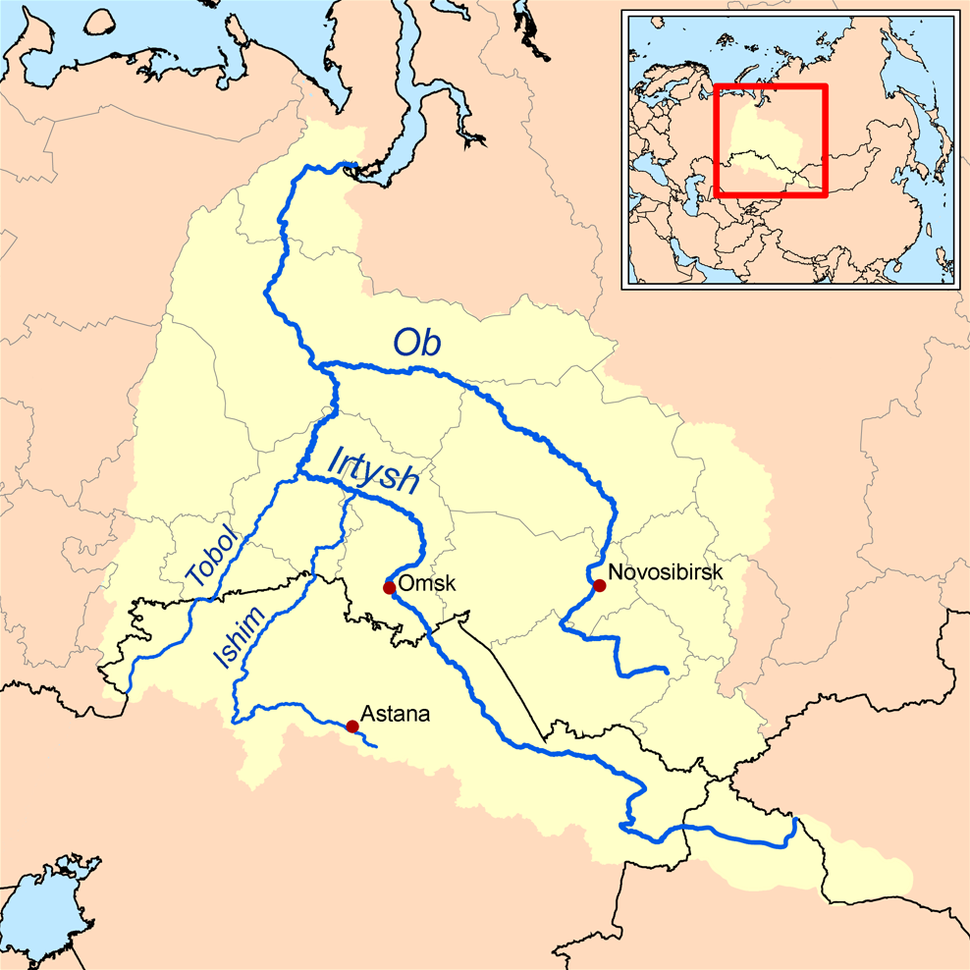 Ob watershed