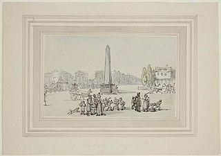 Obelisk St. Georges Fields