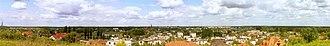 Oborniki - Panorama of the city