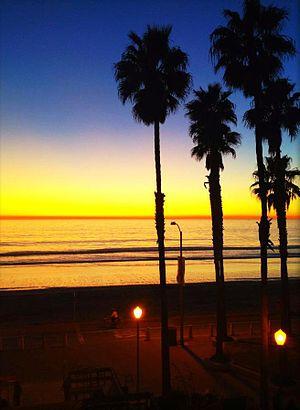 Oceanside, California - Oceanside's Tyson St. Park beach