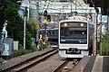 Odakyu 3000 series (2nd gen) at Minami-Shinjuku Station 2016-10-07 (30357222710).jpg