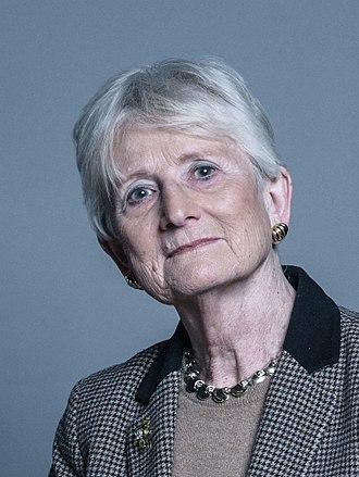Pauline Neville-Jones, Baroness Neville-Jones - Image: Official portrait of Baroness Neville Jones crop 2