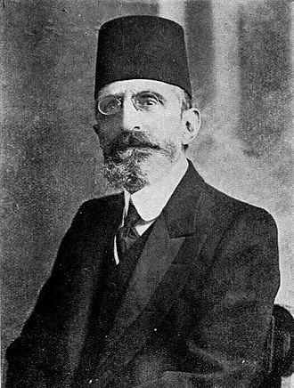 Mount Lebanon Mutasarrifate - Image: Ohannes Pasha Kouyoumdjian