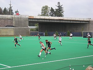 Ohio State Buckeyes field hockey - The 2012 Ohio State team in action at Michigan