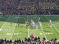 Ohio State vs. Michigan football 2013 15 (Michigan on offense).jpg