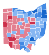 Ohio US Senate Election Results by County, 2006.svg