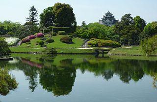 Kōraku-en Garden in Okayama, Japan