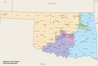 Oklahomas congressional districts