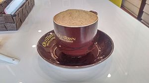OldTown White Coffee - A cup of OldTown White Coffee served at one of its Signature outlets.