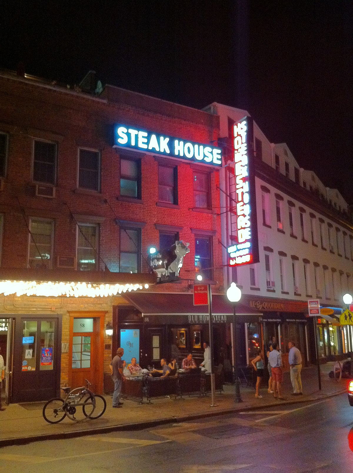 Old Homestead Steakhouse Wikipedia
