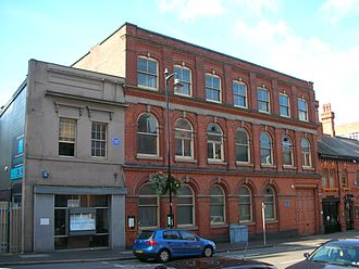 George Richards Elkington - The old Elkington Silver Electroplating Works in Birmingham