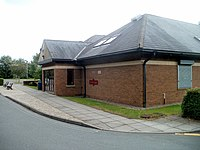 Old Station Surgery, Abergavenny (Geograph 2555606 by Jaggery).jpg