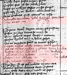 Oldest Surviving Albanian Text