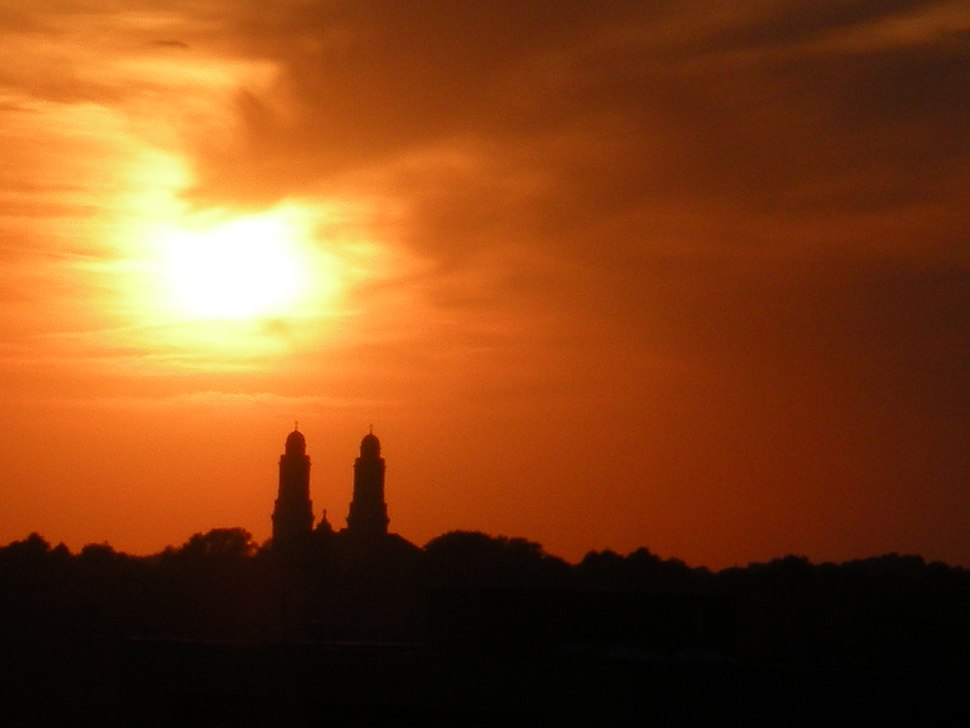 Omaha sunset in 2008