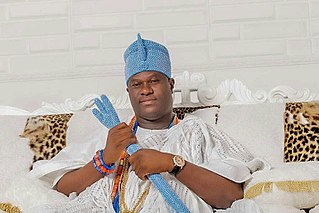 Adeyeye Enitan Ogunwusi Nigerian king