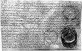Oorkonde bisschop Otbert van Luik tbv OL-Vrouwekapittel Maastricht (1096).jpg