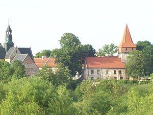 Sulejów - Image: Opactwo cystersów w Sulejowie (Baszta) by Ron