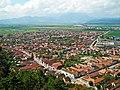 Orasul Rasnov, vedere de sus - panoramio.jpg