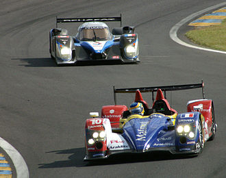 Bruno Senna - Senna driving for Oreca at the 2009 24 Hours of Le Mans