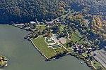 Orfűi tó strand, légi felvétel.jpg