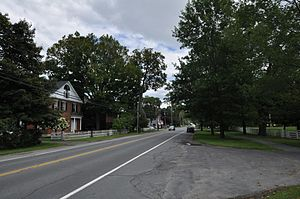 New Hampshire Route 10 - Orford Street Historic District, part of Route 10 in Orford