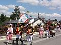 Origny-en-Thiérache (Aisne) défilé soldats Napoleoniens - Les Vétérans bourgeois 15-06-2014 (02).JPG