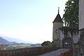 Oron-le-Châtel, Château d'Oron, portail à double vantail.jpg