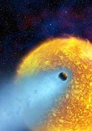 Vue d'artiste de la planète HD 209458b (Osiris).
