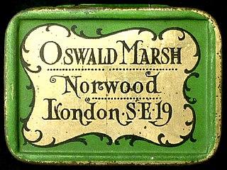 Oswald Marsh British stamp dealer