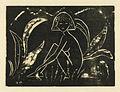 Otto Mueller Mädchen zwischen Blattpflanzen 1912 Holzschnitt.jpg