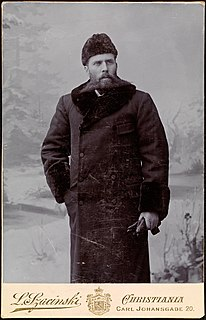 Otto Sverdrup Norwegian sailor and Arctic explorer