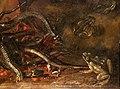 Otto marseus van schrieck (ambito), testa decapitata di medusa, 1600-50 ca. 03 rospi e serpenti.jpg