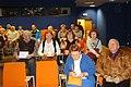Otwarcie w Widzewskiej Galerii Ekslibrisów 100. wystawy 100 ekslibrisów z Orłem Białym na 100-lecie Niepodległej 6 listopada 2018 (8) fot M Z Wojalski DSC07066.jpg