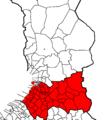 Oulun läänin eteläinen vaalipiiri.png