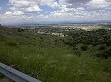 Overlooking Fort Huachuca