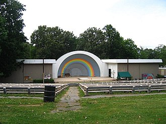 Tourism in Memphis, Tennessee - Overton Park Shell (2006)