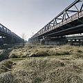 Overzicht van drie bruggen, gezien vanuit het noorden - Zaltbommel - 20384846 - RCE.jpg