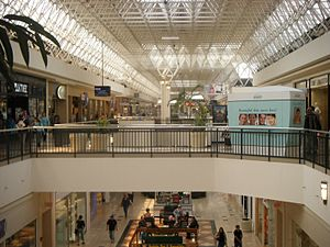 Oxford Valley Mall - Second floor, looking from Macy's