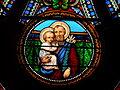 Périgueux église St Georges rosace transept sud détail (1).JPG