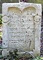 Písečné Jüdischer Friedhof.- Grabstein 2a.jpg