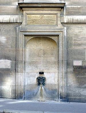 Fontaine Palatine - La fontaine Palatine