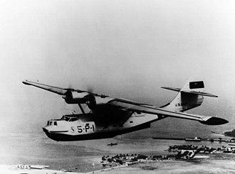 VP-46 - VP-5 PBY-3 over Panama in 1939