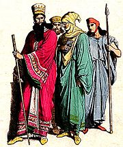 Mede nobleman and Persians.