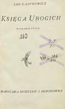 Księga Ubogichcałość Wikiźródła Wolna Biblioteka